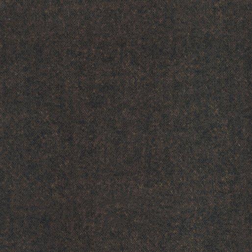 Winter Wool Flannel from Benartex #9618F-77 Brown Tweed Flannel