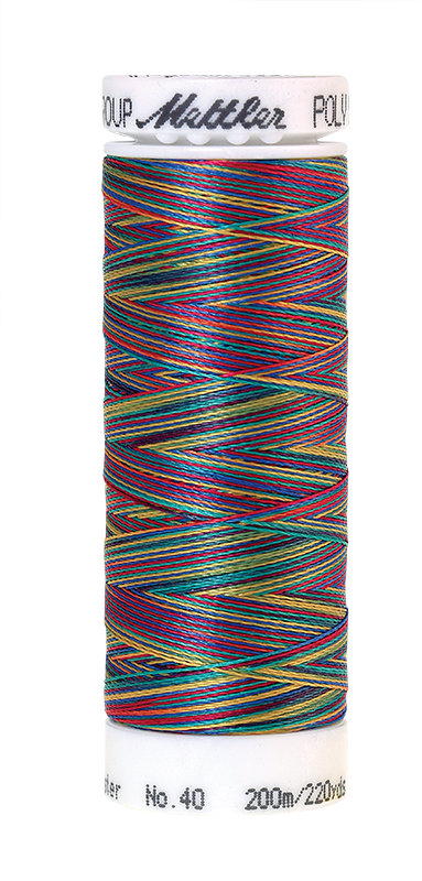 Poly Sheen Multi Threads #9916 Confetti