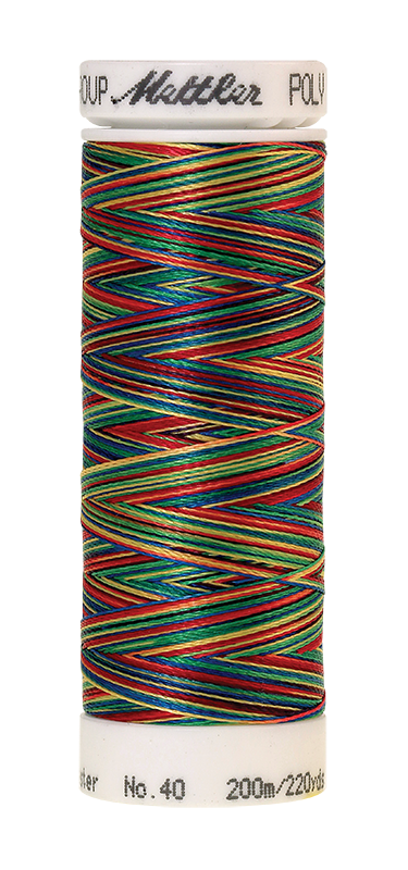 Poly Sheen Multi Threads #9937 Primary Colors