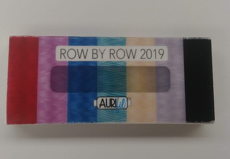 Row By Row 2019 - Aurifil Thread Kit 7 Assorted Spools 50 wt