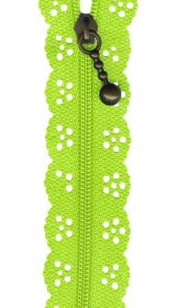 12in Big Lacie Zipper - Lime BCS 1144