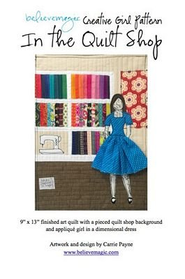 In The Quilt Shop from Creative Girl Pattern