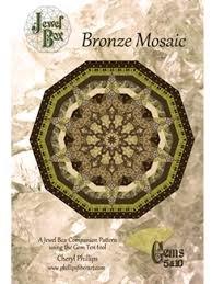 Jewel Box - Bronze Mosaic Pattern