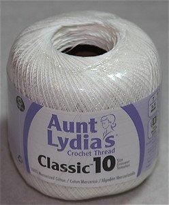 Aunt Lydia's Crochet Thread Classic 10 350 yds