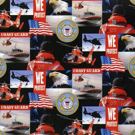 Military Prints from Sykel- 021-CG Coast Guard