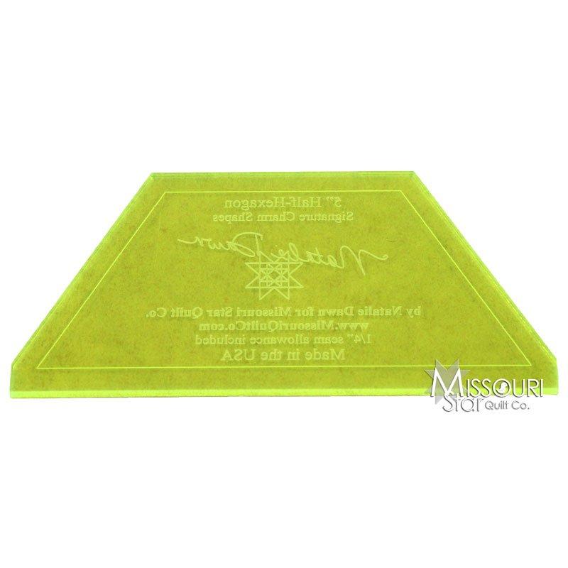 5 Half Hexagon Template From Missouri Star Quilt Company 1325715