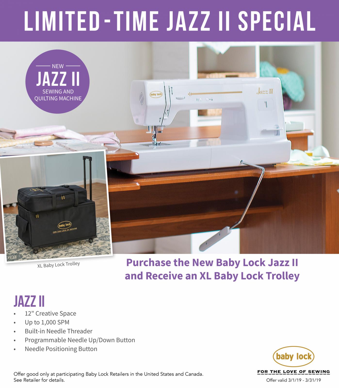 jazz II special creekside fabrics, ny