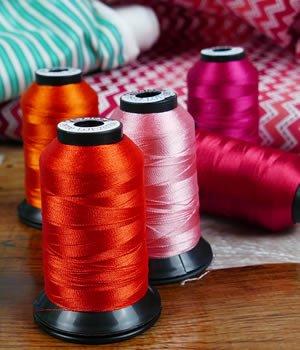 Floriani Threads: Oranges, Yellows, Browns