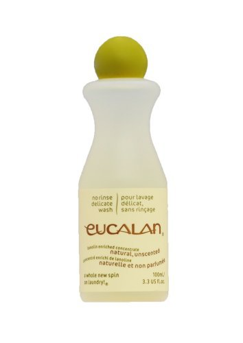 Eucalan Delicates and Wool Wash, 3.3 oz., Unscented