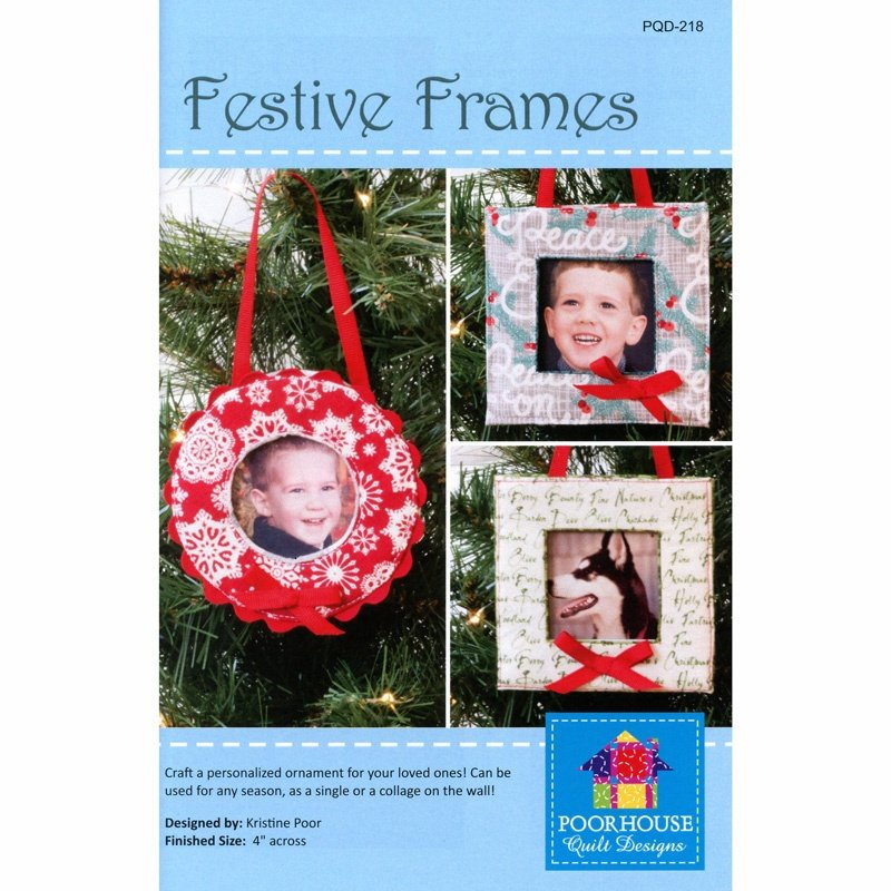 Festive Frames by Poorhouse Quilt Designs