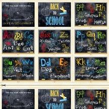School Days by Wilmington Prints- Book Panel