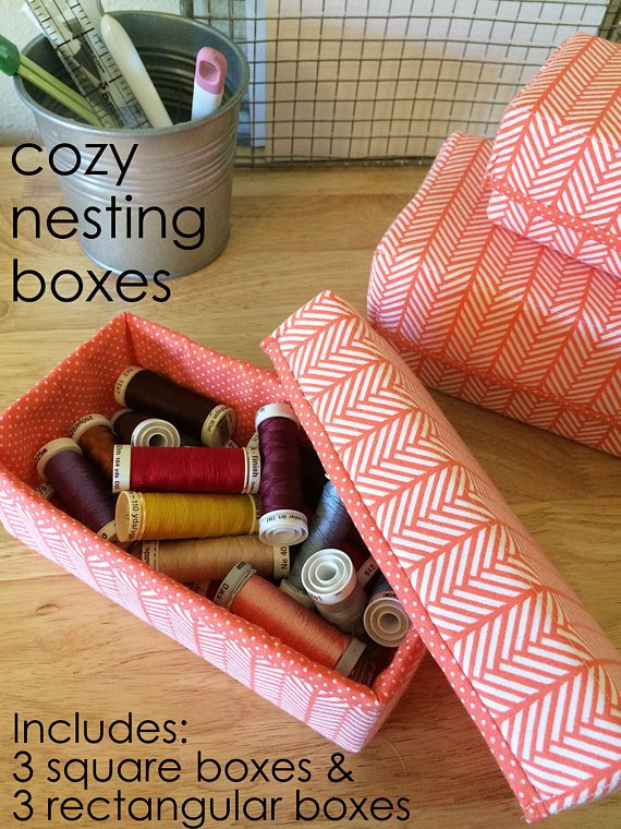 Cozy Nesting Boxes Pattern from Cozy Nest Design