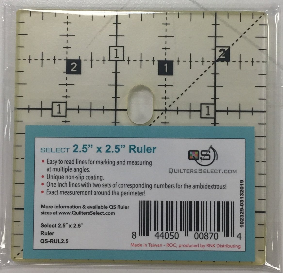 Quilter's Select 2.5 Square