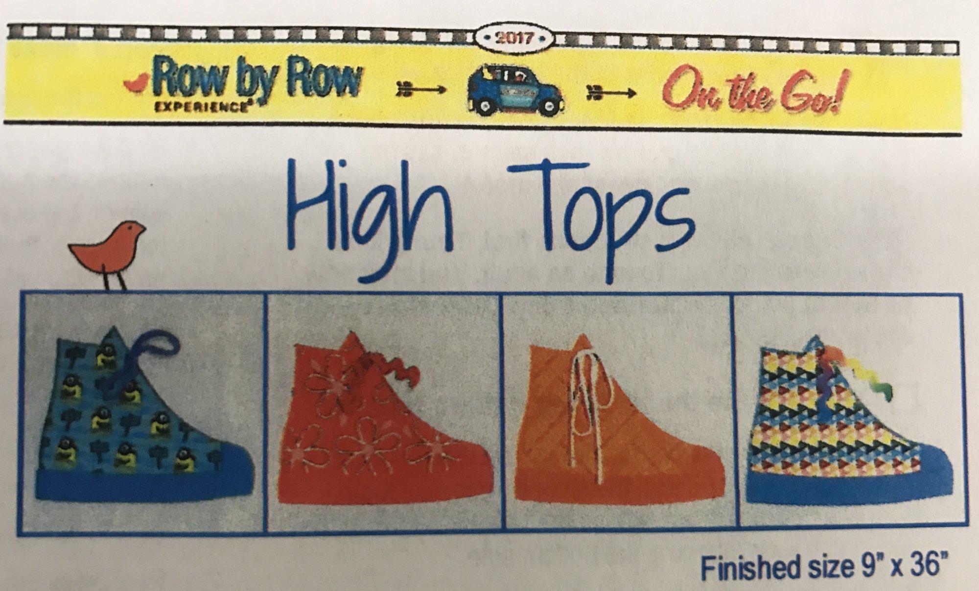 Jr Row by Row 2017 - High Tops Kit
