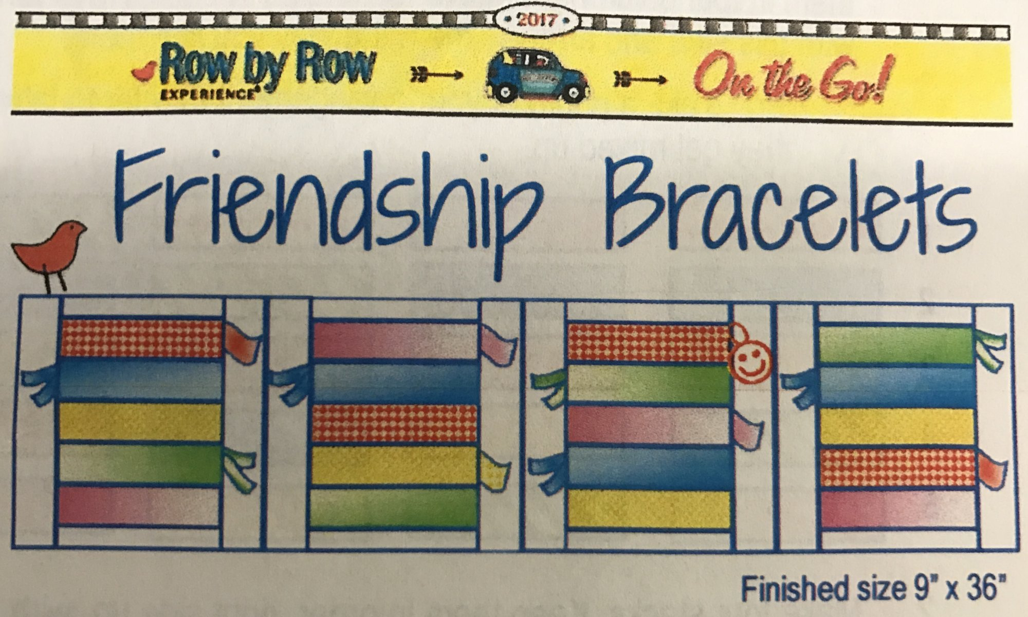 Jr Row by Row 2017 - Friendship Bracelets Kit