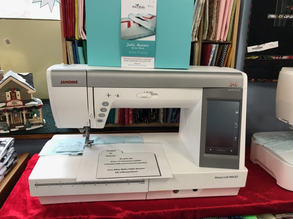 Used Janome Horizon Memory Craft 9400 QCP