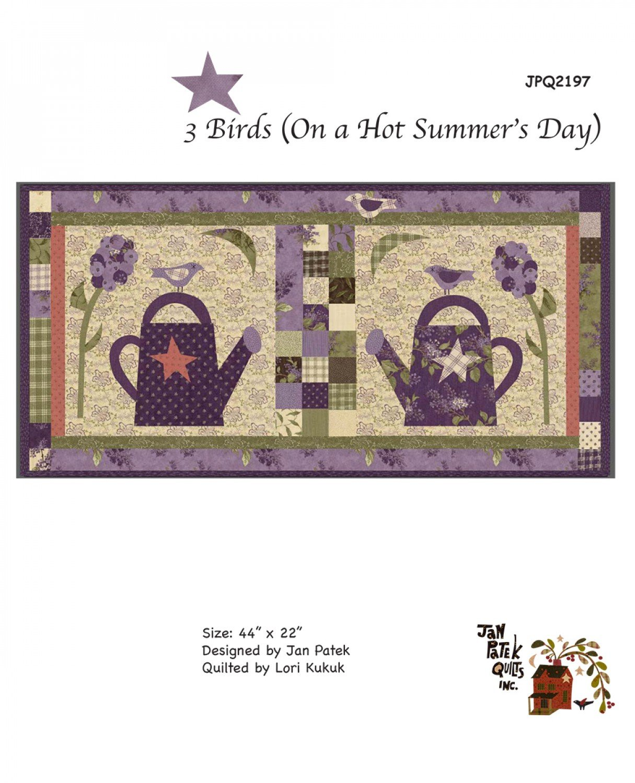 3 Birds (On A Hot Summer's Day) by Jan Patek-JPQ2197