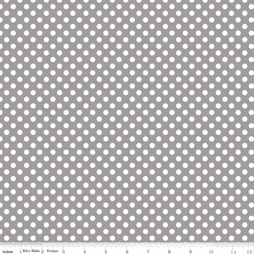 Small Dot Knit K350-40 Gray