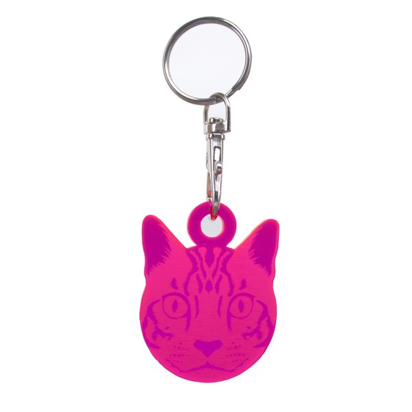 Tula Pink Keychains - Sewing Machine, Cat, Bird, Scissors