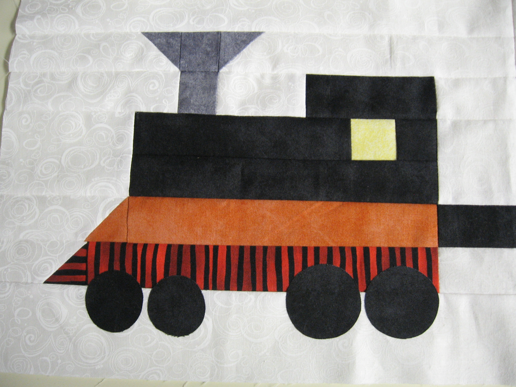 Row By Row My Train  2012  Pattern Only