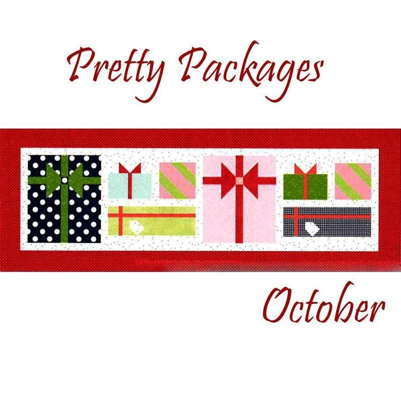 Riley Blake Table Runner Of The Month- October - Pretty Package