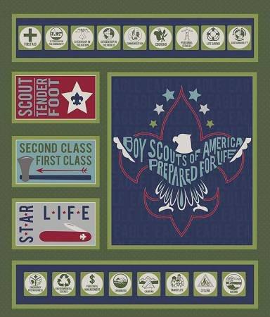 Modern Scouting P6205 Green panel