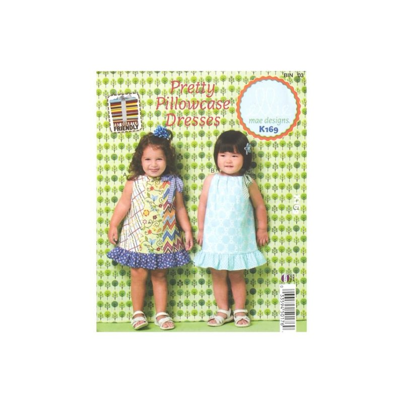 Pretty Pillowcase Dresses Ellie Mae Designs 033594501769