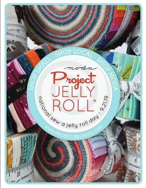National Jelly Roll Day 9/21/2019 Creekside Fabrics Arcade, NY