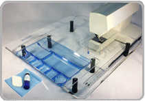Sew Steady Acrylic Extension Tables and Inserts