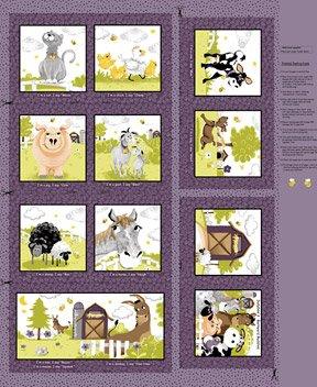 Barnyard Buddies Story Book Panel #SB20321-690