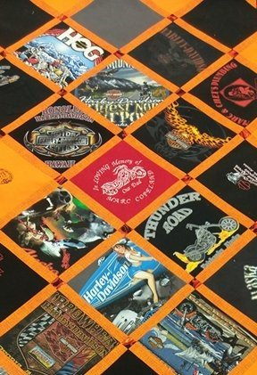 On Point T Shirt Quilt