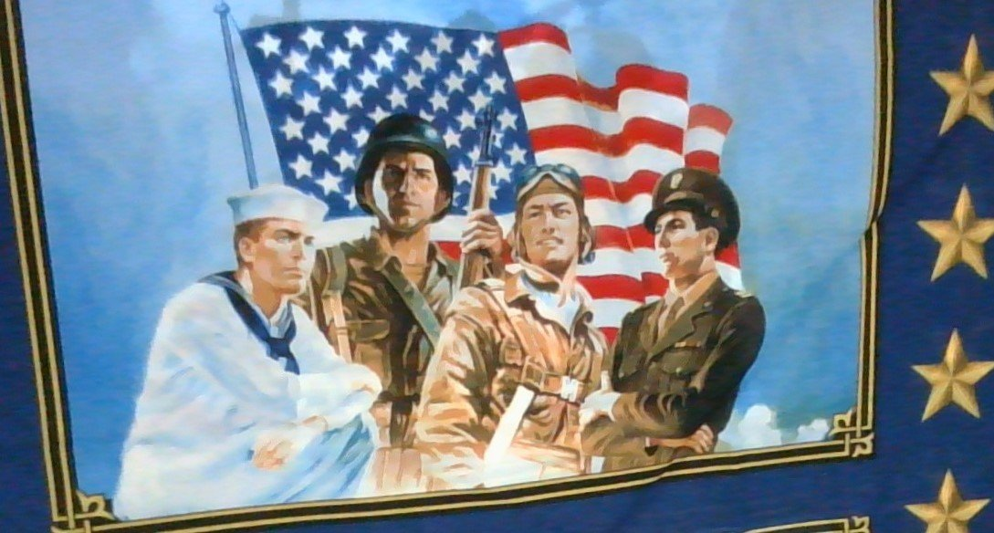 American Heroes Panel 36040P