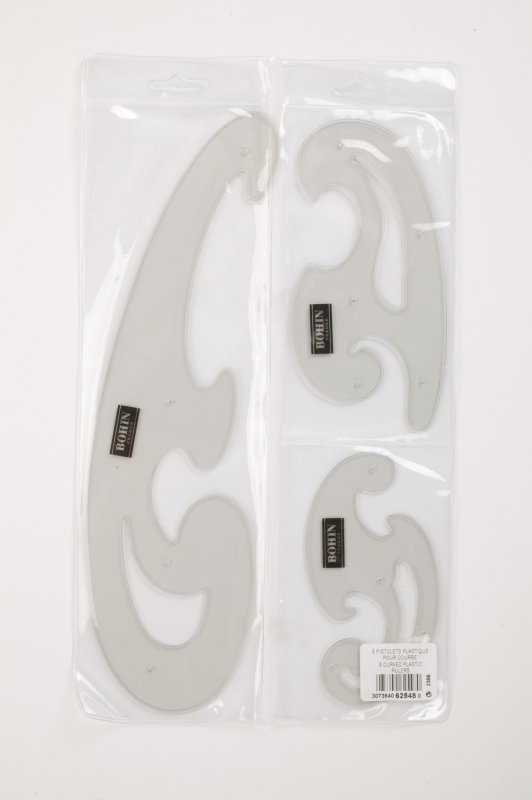 62548 French Curves - set of 3