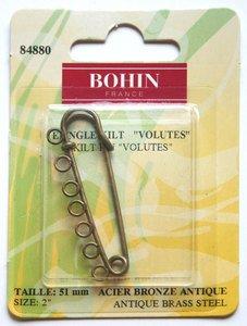 84880 Skirt Pin - Bronze 2 - 7 Rings