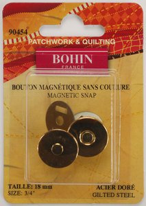 90454 Magnetic Snap 3/4 Gold
