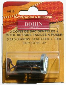90512 Decorative Corners - Bronze - pack of 3 with Tool