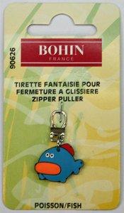 90626 Fish - zipper pull