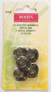 91343 Steel Bobbins - Class 66 - pack of 5