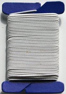 92191 Elastic for Masks - White - 10m