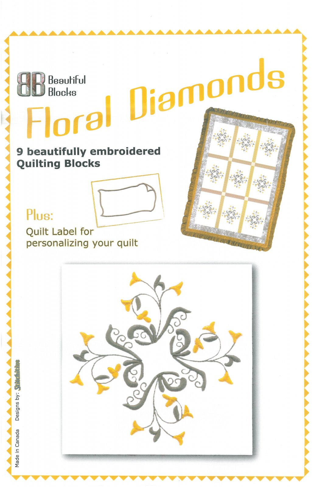 Floral Diamonds