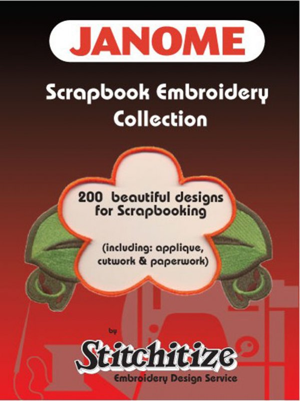 Janome Scrapbook Embroidery Collection