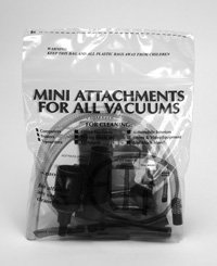 VACUUM CLEANER ATTACHMENTS KIT
