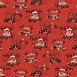 Red Monotone Scenic Christmas (F10193)