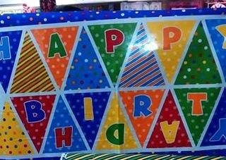 Beary Happy Birthday (Panel) (F3018)