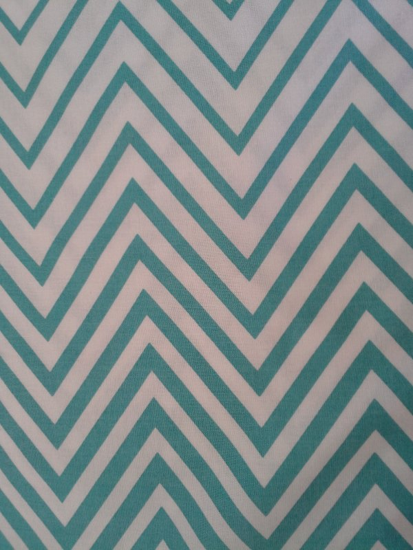 Chevron - Simply Style (Aquatic Blue) (F3301)