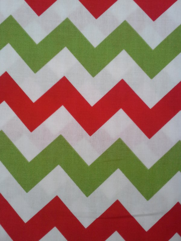 Chevron- Christmas Medium (F9057)
