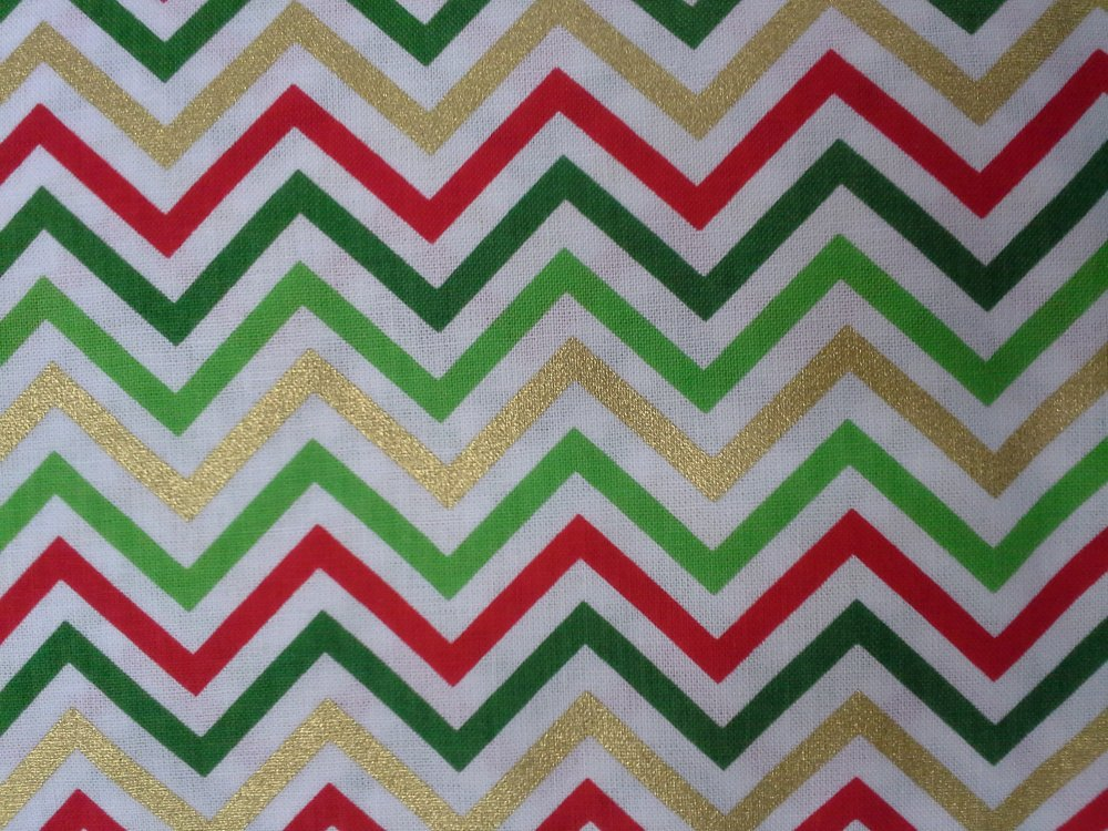 Chevron (Holiday Metalic) (F2921)