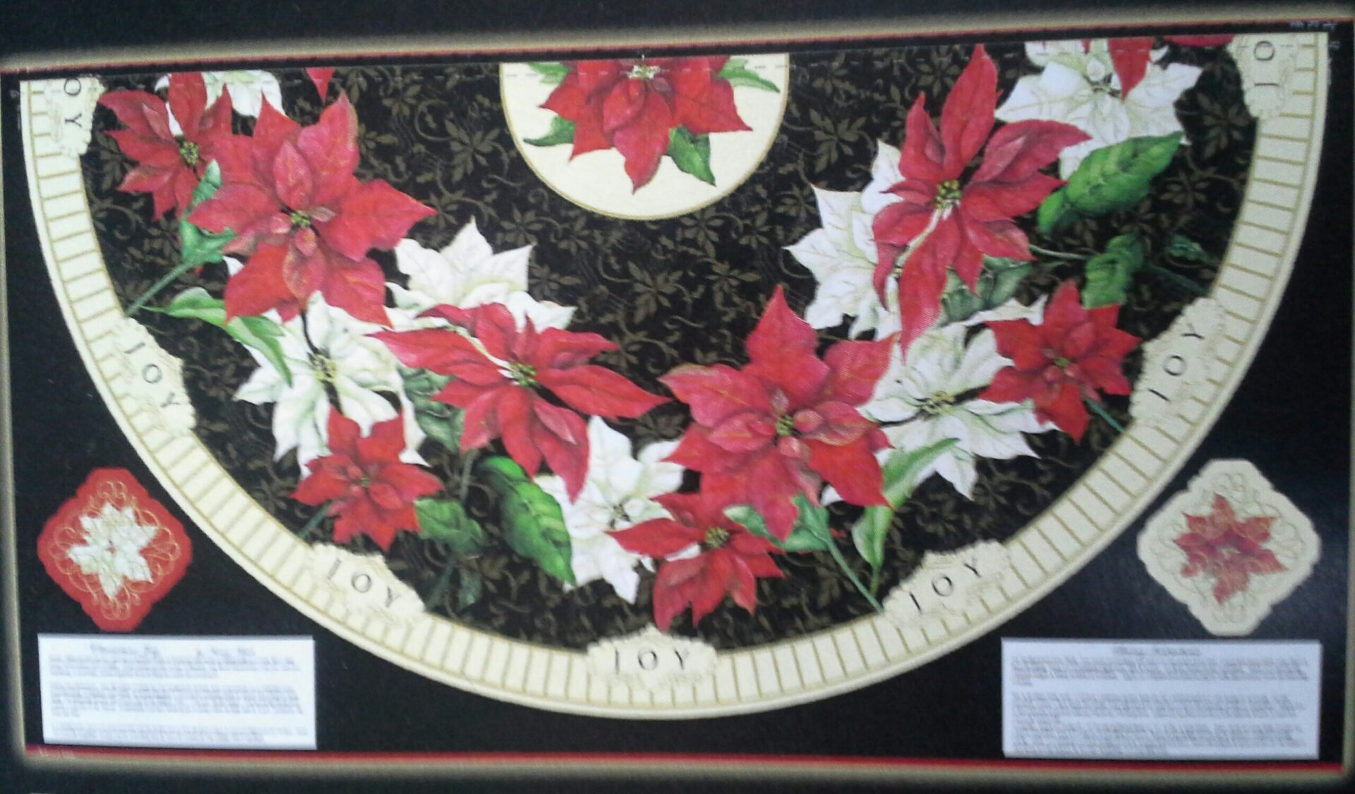 Christmas Joy (Panel Table Runner) (F2472)