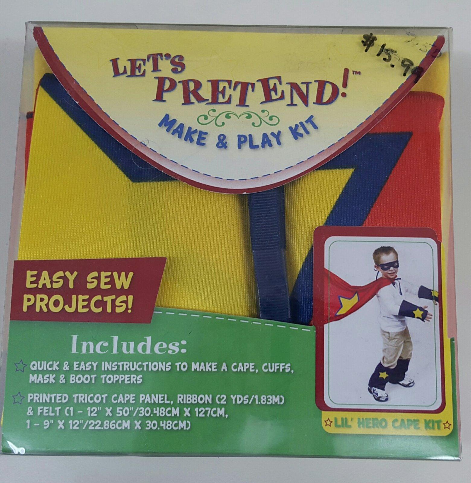 Lil' Hero Cape Kit