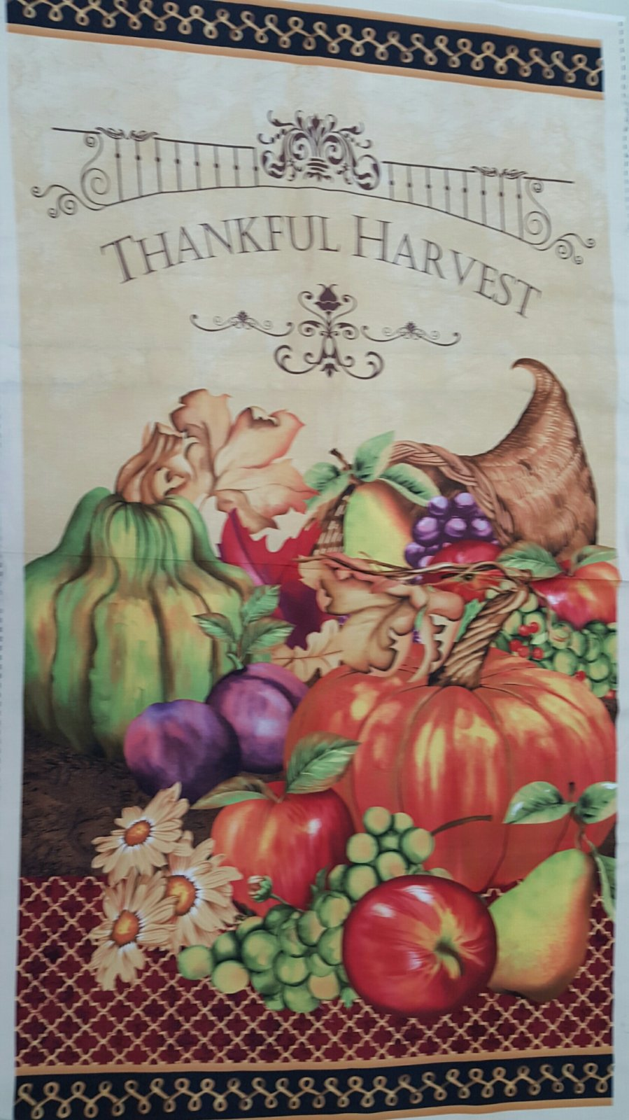 Thankful Harvest Panel (P4323)
